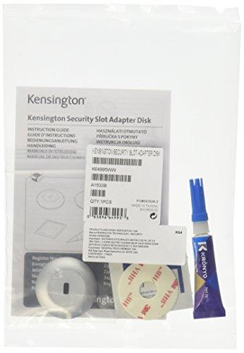 Kensington Security Slot Adapter Kit - System Security Kit - Gray (K64995WW) Laptop Lock Slot