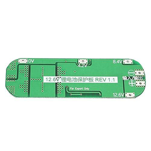Scheda di protezione BMS PCB 3S 20A batteria agli ioni di litio 18650 caricabatterie professionale per modulo trapano modulo celle Lipo 12.6V verde e nero