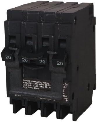 Q2020 Siemens 20//20 Amp 120V Twin Tandem Circuit Breaker 20A 1P NEW ED4U #8205