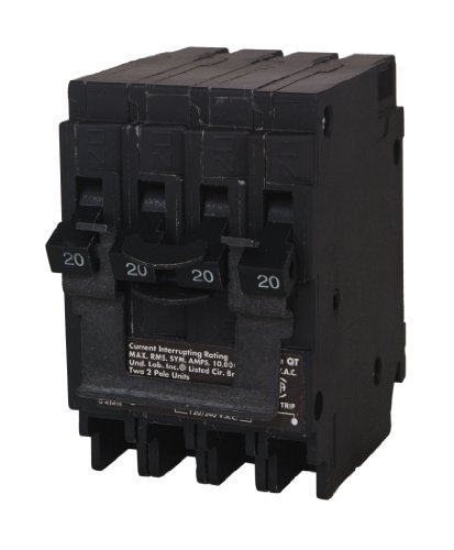 Siemens Q22020CT2 Two 20-Amp Double Pole Circuit Breaker by Siemens