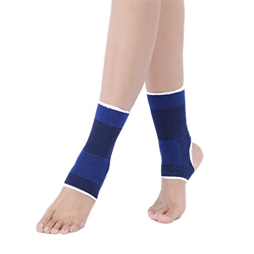 EraseSIZE Breathable Elastic Ankle Brace Compression Support Plantar Fasciitis Sleeve for Sports, Injury Recovery, Joint Pain