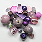 Assortiments de perles pourpres