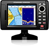 "Standard Horizon CPF190i 5"" Internal GPS Chartplotter/Fishfinder Combo w/Built-In C-Map Cartography"