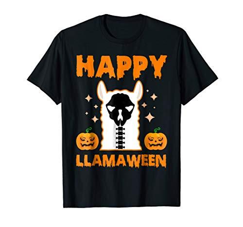 Llama costume halloween Happy Llamaween -