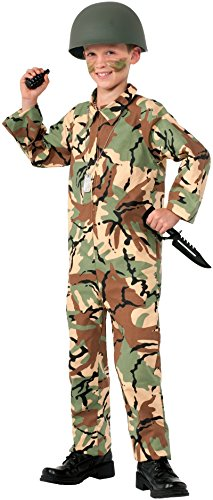 Officer Jumpsuit (Forum Novelties Army Jumpsuit Costume, Medium)