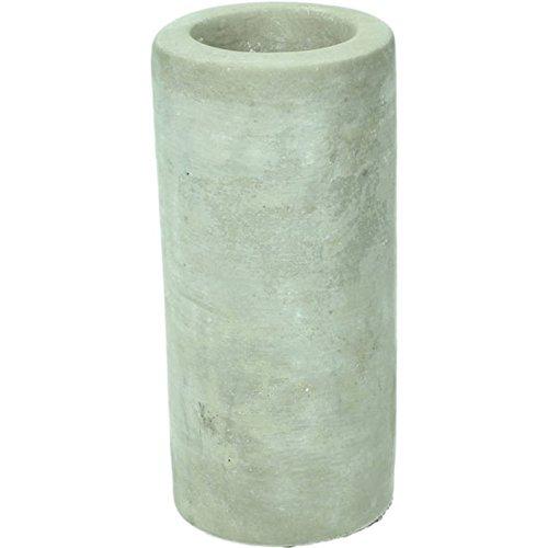 Tall Grey Concrete Pillar Shape Tea Light Candle Holder Wedding Table Decoration
