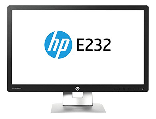 HP EliteDisplay E232 23-Inch Monitor (M1N98A8#ABA) IPS w/LED backlight, 1920x1080 @60Hz, 96PPI