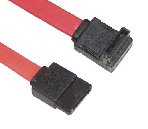 SATAGear 4in SATA III Device Cable Straight to Right Angle