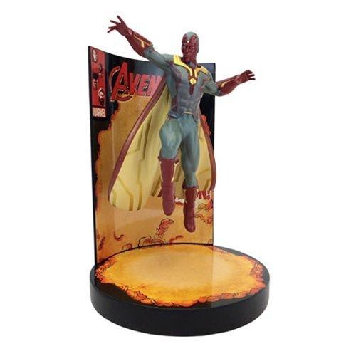 Factory Entertainment Marvel Comics The Avengers Behold The Vision Premium Motion Statue