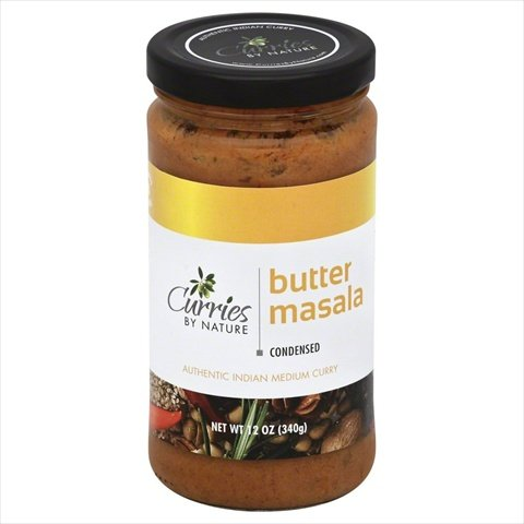CURRIES BY NATURE SAUCE CURRY BTTR MASALA-12 OZ -Pack of 6