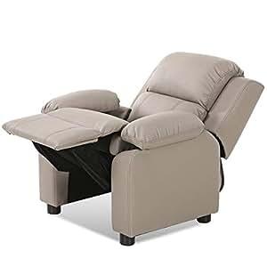 HONEY JOY Sofá reclinable para niños, sillón Acolchado con ...