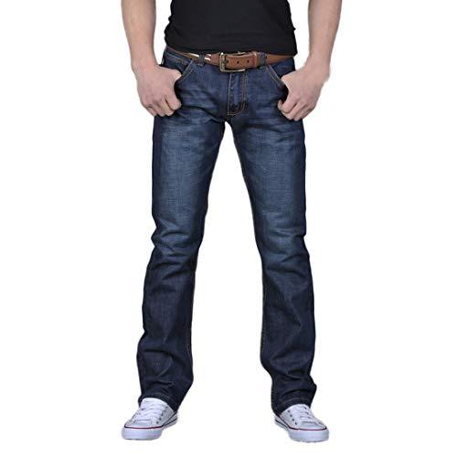 Muramba Clearance Pants Men's Casual Denim Loose Straight-Fit Jean
