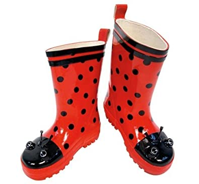 Amazon.com: Kidorable Rain Boots for Kids & Toddlers (Size 5T - 2K ...