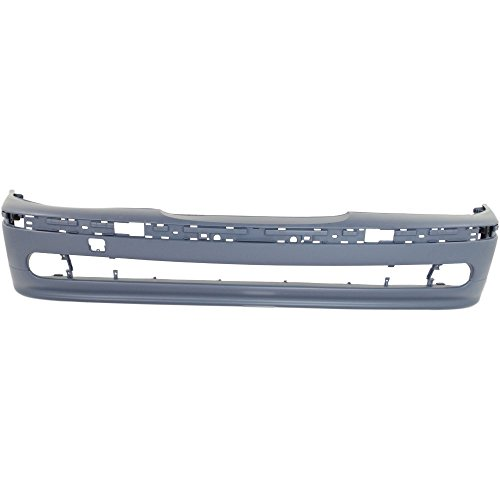 17872018657 Front BUMPER COVER Primed for 2001-2003 BMW 525i 2001-2003 BMW 530i 2001-2003 BMW 540i ()