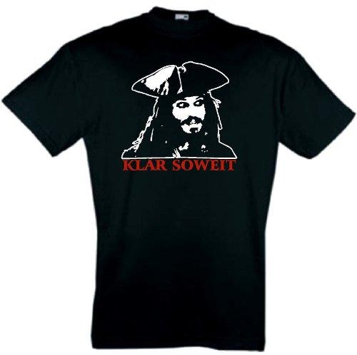world-of-shirt Herren T-Shirt Jack Sparrow Fluch der Karibik