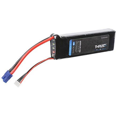 E-flite Thrust VSI 11.1V 4000mAh 40C 3S LiPo Battery: EC3, EFLB40003S40