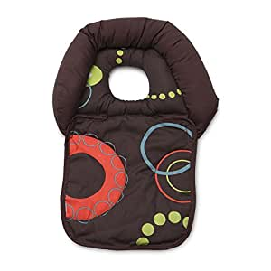 Boppy Noggin Nest Head Support, Brown Wheels