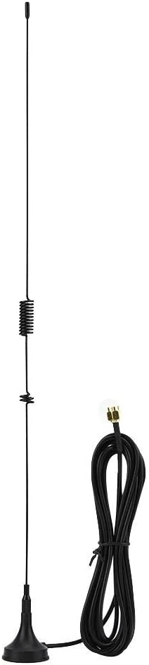 Dioche UT-106UV Auto Dual Frequency Radio Antenne Magnetische SMA Male UHF VHF Mobilfunkantenne Geeignet f/ür Baofeng BF-UV3R UV100 U3