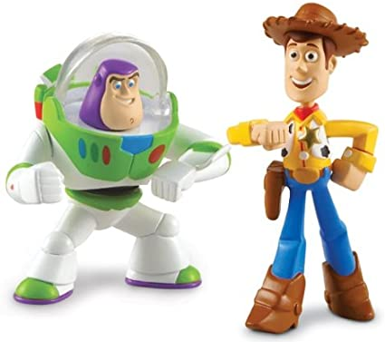 Disney Toy Story 3 Pack de Amigos - Buzz Lightyear and Walking ...