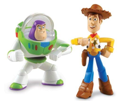Pixar Toy Story 3 Action Links Mini Figure Buddy 2-Pack Communicator Buzz Lightyear /& Walking Woody Mattel T0431 Disney