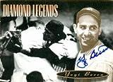Autograph Warehouse 88191 Yogi Berra Autographed Baseball Card New York Yankees 1994 Upper Deck All Time Heroes No .158