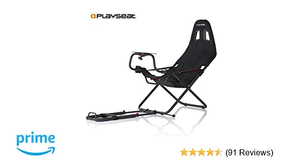 Playseat Challenge Racing Video Game Chair For Nintendo Xbox Playstation Cpu Supports Logitech Thrustmaster Fanatec Steering Wheel And Pedal