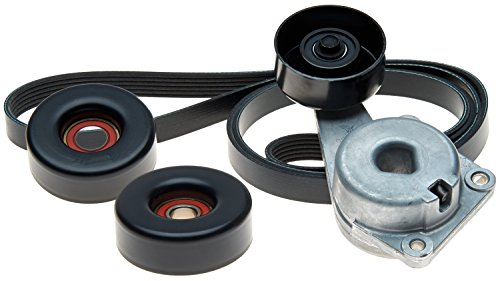 ACDelco ACK061025 Professional Automatic Belt Tensioner and Pulley Kit with Tensioner, Pulleys, and Belt