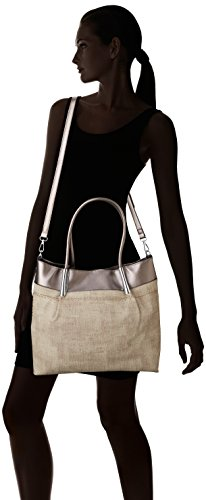 Leather Silver Faux Suzie Tote Womens SwankySwans Antique Handbag Silver qgtFOnw