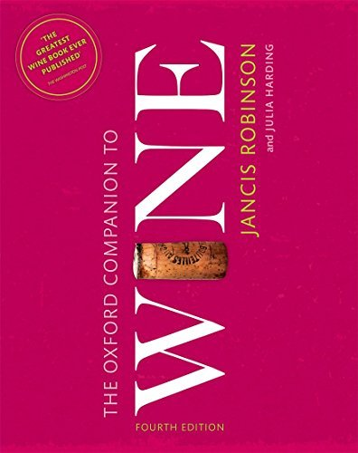The Oxford Companion to Wine (Oxford Companions) by Harding Julia (2015-10-01) Hardcover