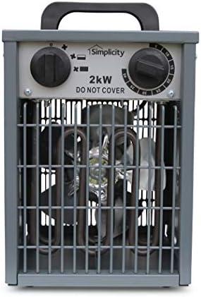 Simplicity 2kW Greenhouse fan heater v2.0