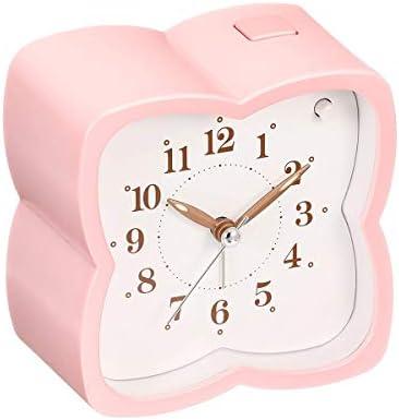 洗練されたミニマリストカッコウ音楽目覚まし時計木造住宅/四つ葉のクローバー形楽しいアラームリング自然音パーソナリティクリエイティブ音楽目覚まし時計