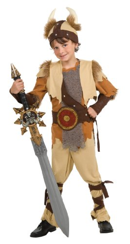 Rubie's Deluxe Viking Warrior Costume - Large (12-14)