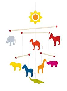 Animals Wooden Ceiling Mobile