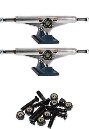 6.14 Hanger 8.75 Axle with 1 Black Hardware INDEPENDENT Grant Taylor Stage 11-159mm Hollow Standard Engine Silver//Ano Blue Skateboard Trucks