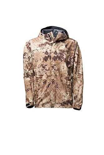Kryptek Jupiter Camo Rain Jacket (Rain Gear Collection), Highlander, L (Rain Gear Hunting)