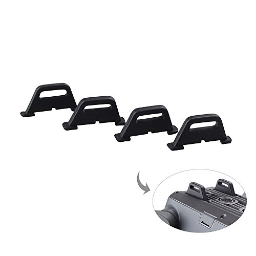 (RCGEEK Compatible with DJI Mavic Pro Drone Landing Rear Protection Replacement Feet Parts)