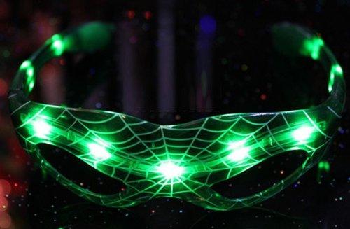 [conception Spider-man] 3 Set Couleur Festival Club Costumée Lunettes De Soleil Lunettes Conduit Brillant Partie Concert Harouin Comiket Cosplay