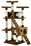 "Go Pet Club Brown 72"" Cat Tree F2081"