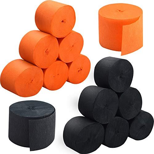 orange and black streamers - 1