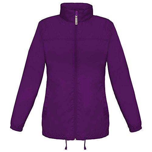 Windbreaker Showerproof Purple The Coat Foldaway Sirocco amp;c Ladies B Xwqx4PIx