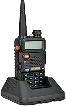 BaoFeng UV-5R VHF UHF Dual Band Radio 136-174 400-480Mhz Transceiver from NSKI