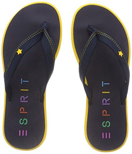 ESPRIT Damen Star Thong Pantoletten, Gelb (Yellow), 37 EU