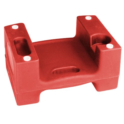 Koala Kare KB116-03 Booster Buddy, 13'' Height, 21'' width, 29'' Length, Red (Pack of 5)