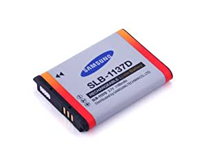 Samsung SLB-1137d 1100mAh Lithium Ion Rechargeable Battery for Samsung NV24HD, NV40, NV30, NV11, L74W and i85 Digital Cameras