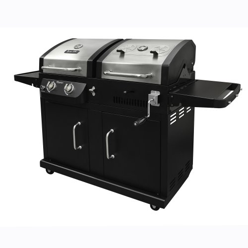 Dyna-Glo DGB730SNB-D Dual Fuel Grill (Stainless Steel Grates Vs Porcelain Cast Iron)