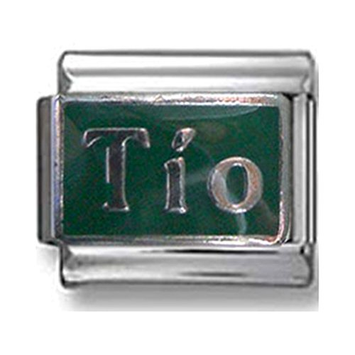 Green Tio Italian Charm