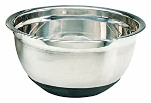 Crestware 8-Quart Mixing Bowls with Rubber Base