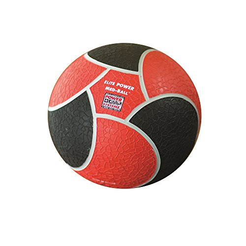 Power Systems Elite Power Medicine Ball (10-Pounds), Red