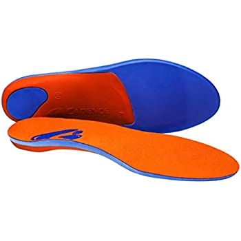 Multiple Sizes Orthotic Shoe Inserts for Comfort//Pronation Cadence Insoles