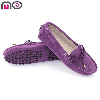bemix Zapatos atmungsrindsleder Mujer ante Guantes de conducción trensen de tipo mocasín Slipper – Zapatos de